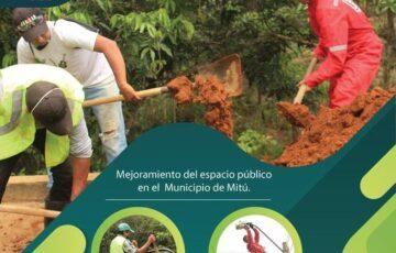 Alcaldía de Mitú realiza mantenimiento de puntos críticos de la malla vial y alumbrado público