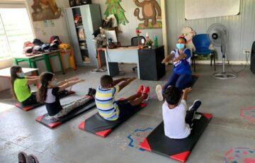 La Alcaldía de San José del Guaviare promueve jornadas de actividad física para niños y niñas de la ciudad