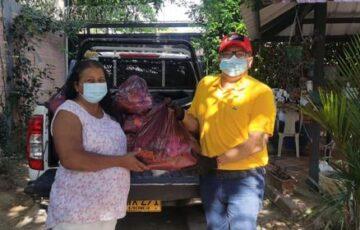 Adultos mayores de Arauca, que no pertenecen a programas sociales, recibieron ayudas alimentarias por parte de la Alcaldía