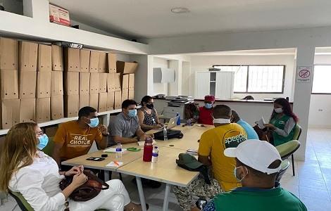 Alcaldía de Cartagena socializa actualización del Sisbén IV con Juntas de Acción Comunal