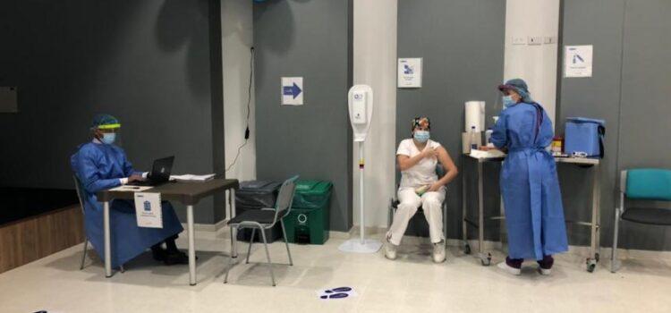 Continúa la vacunación contra el Covid-19, en Ibagué