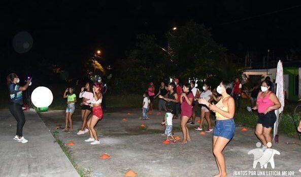 Ciudadanos de Leticia participan de jornadas deportivas