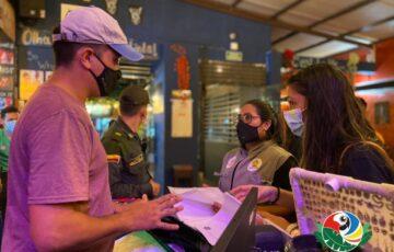 Alcaldía de Leticia supervisa cumplimiento de protocolos de bioseguridad en establecimientos comerciales