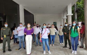 Secretaría de la Mujer de Neiva adelanta jornadas de sensibilización para erradicar casos de trabajo infantil en el centro de la ciudad