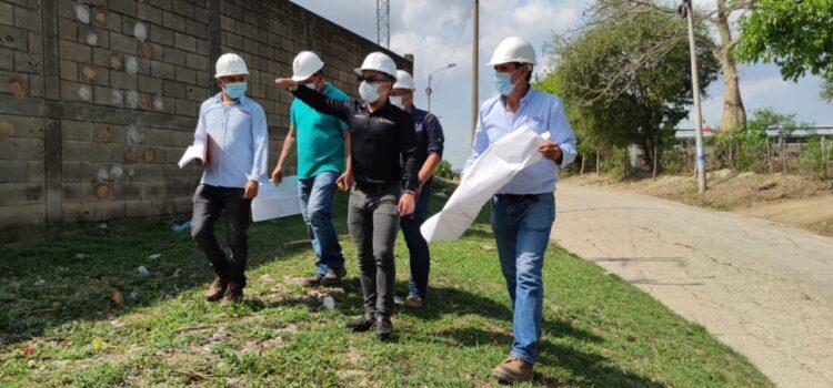 La Alcaldía de Sincelejo a través de la Secretaría de Planeación hace acompañamiento a construcción de escenarios deportivos
