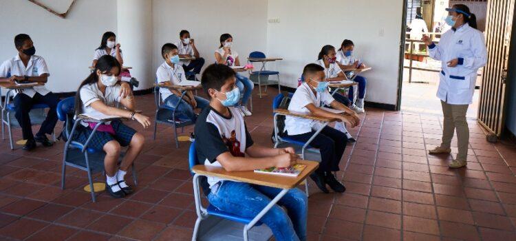 Bucaramanga ya cuenta con 85 instituciones educativas en alternancia