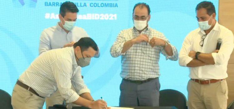 Asocapitales y BID firman alianza para disminuir huella de carbono en las capitales de Colombia