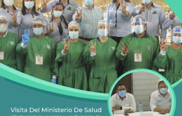 Ministerio de Salud inspecciona implementación del Plan de Vacunación en Mitú