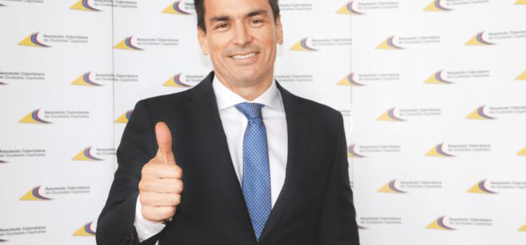 Asocapitales elige por unanimidad al alcalde de Montería, Carlos Ordosgoitia como nuevo presidente de Asocapitales