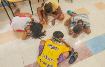"""Con la estrategia """"Pinto mis ideas"""", la Alcaldía de Cartagena lanza mes de la Niñez"""