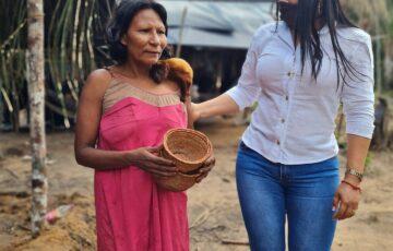 Gestora Social de San José del Guaviare entrega kits alimentarios a comunidades indígenas de la ciudad