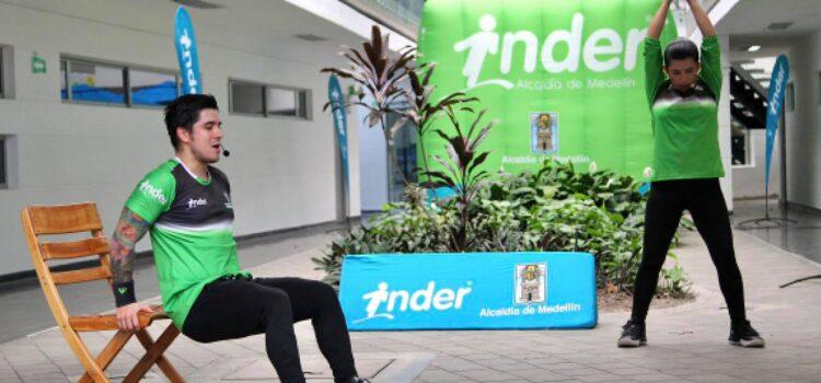 Con clases virtuales, la Alcaldía de Medellín incentiva la actividad física durante el toque de queda continuo