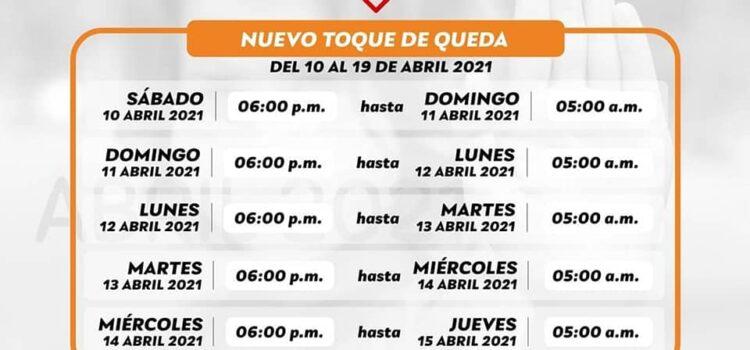 Toque de queda en Valledupar, de 6 p.m. a 5 a.m., hasta el 19 de abril de 2021