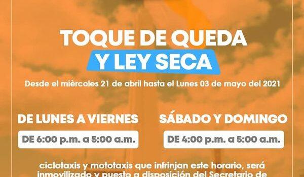 La Alcaldía de Uribia adopta medidas de toque de queda y Ley seca para mitigar contagios por Covid19