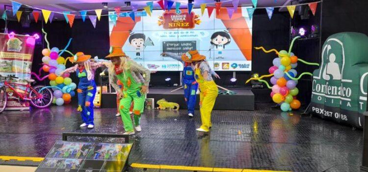Ibagué celebró el Día de la Niñez con un 'Gran Bingo Familiar'