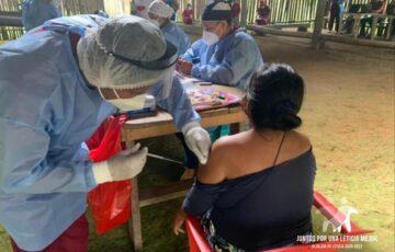 En Leticia avanzan las jornadas de vacunación contra Covid19 y la entrega de kits bioseguros
