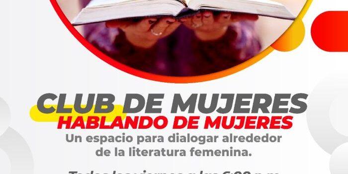 La Secretaría de Cultura de Pereira abre un nuevo espacio de diálogo sobre la literatura femenina