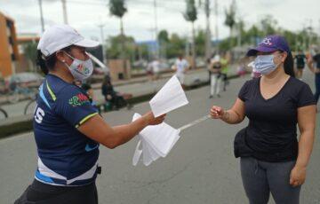 Tercer domingo de Recreovía en Popayán fue un homenaje a la paz