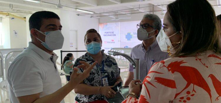 Se habilitará la vacunación contra el Covid-19 en el Centro Comercial Alamedas en Montería