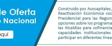 Asocapitales presenta catálogo de oferta del Gobierno Nacional