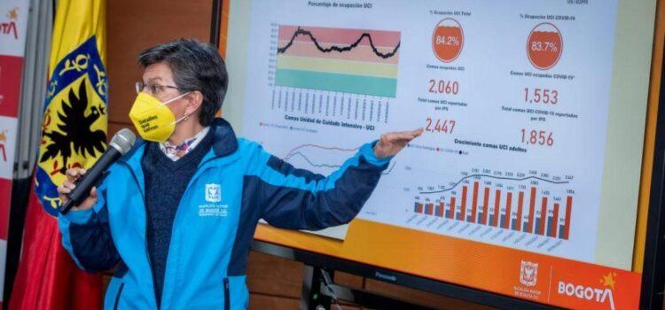 Bogotá acoge toque de queda a partir de las 8 p.m. desde este martes 20 de abril de 2021