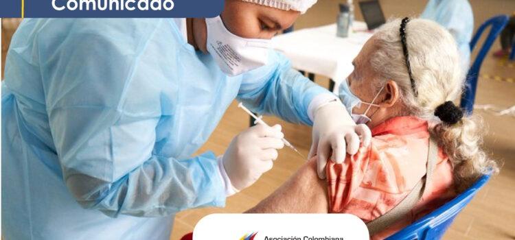Ciudades Capitales mantendrán nivel de vacunación Covid-19 en articulación con el Gobierno Nacional