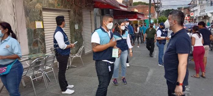 Alcaldía de Cali realiza recorridos pedagógicos de movilidad en comuna 3, para mitigar contagios por Covid-19