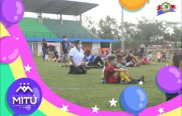 Los niños y niñas de Mitú se llenaron de felicidad en el día de la niñez