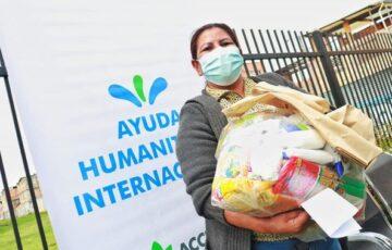 Campesinos de Soacha afectados por la pandemia de Covid19 reciben kits alimentarios