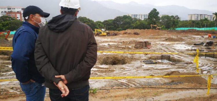¡Iniciaron las obras de cimentación del Coliseo Mayor, en Ibagué!