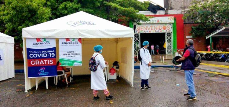 Con éxito se desarrollan jornadas gratuitas de pruebas de diagnóstico COVID-19 en Yopal