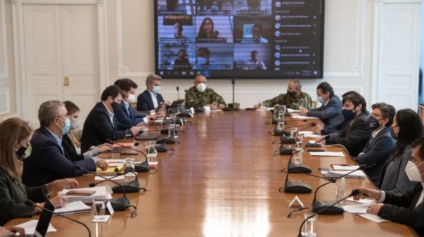 Asocapitales asiste a mesa de diálogo con el Presidente Iván Duque