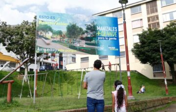 El Pacto por la reactivación económica de Manizales comenzó su ejecución con la primera piedra en el parque Faneón