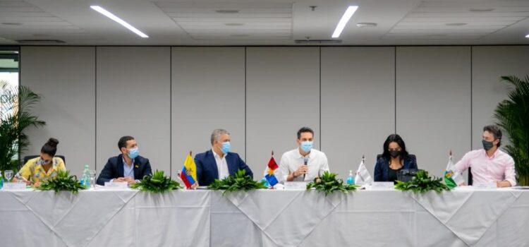 En encuentro con el Presidente de la República, Iván Duque, Asocapitales rechaza bloqueos que afectan abastecimiento de ciudades y empleo