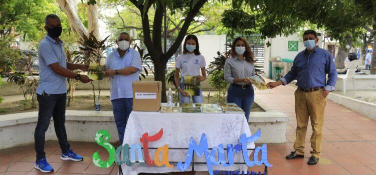 La Alcaldía de Santa Marta entregó 20 mil libros infantiles a instituciones educativas