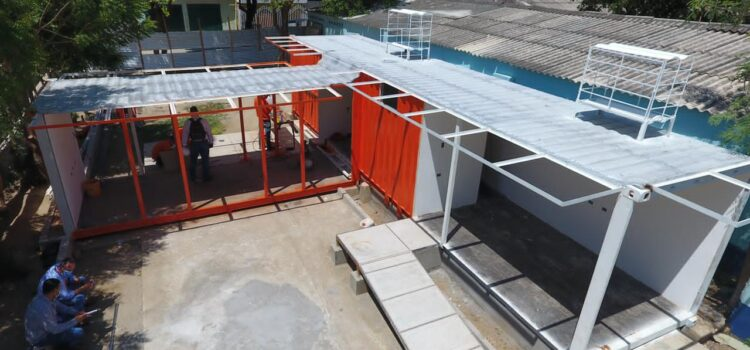 Centros de Referenciación impulsados por la Alcaldía de Santa Marta, presentan un 40% de avance
