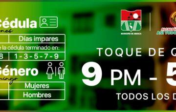 Nuevas medidas de toque de queda en Arauca