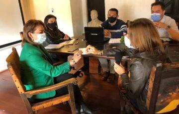 La Alcaldía de Tunja inició mesas técnicas del sector cultura y turismo