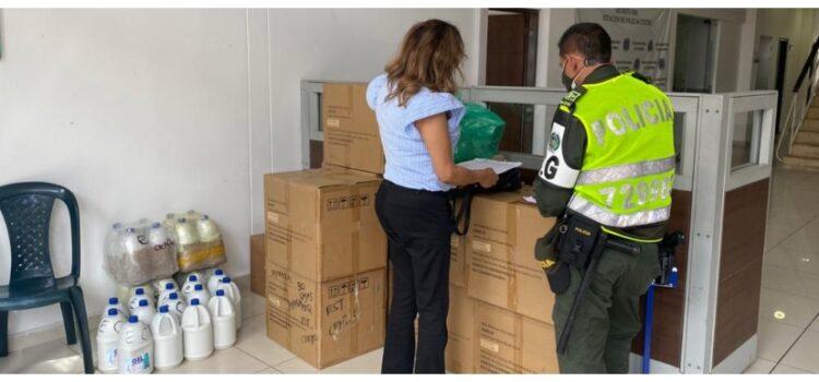 Alcaldía entregó elementos de protección personal a la población carcelaria de Bucaramanga