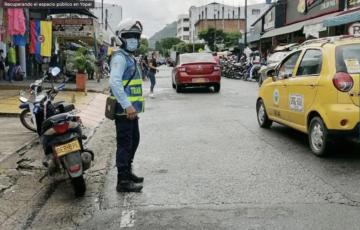 Con operativos móviles, Alcaldía de Yopal fortalece plan de recuperación del espacio público
