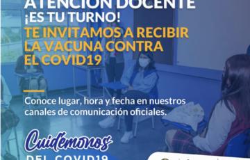 Inicia la vacunación para los docentes del Municipio de Popayán
