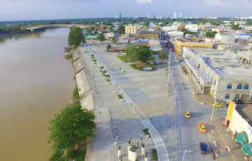 Alcaldía de montería firmó convenio con Invías para la construcción de 7 km de placa- huella
