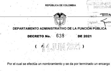 Decreto 638 del 11 de junio de 2021