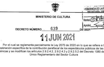Decreto 639 del 11 de junio de 2021