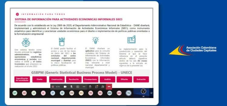 Sistema de información para actividades económicas informales SIECI