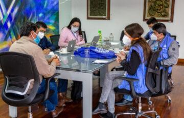 Alcalde de Pasto y representantes de Naciones Unidas para los Derechos Humanos  analizan situaciones presentadas en las jornadas de movilización en la ciudad