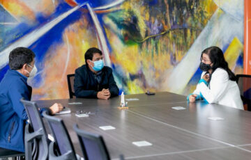 El Alcalde de Pasto y Rectora de la Universidad de Nariño avanzan en la construcción colectiva de la región