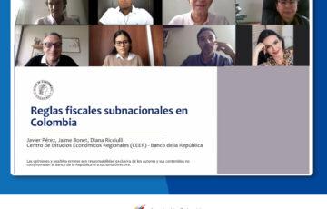 Encuentro Reglas Fiscales subnacionales en Colombia