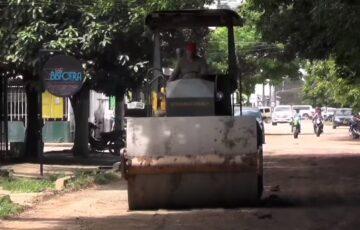 La Alcaldía de San José del Guaviare avanza en el mejoramiento de vías