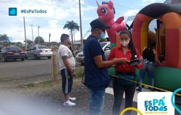 Secretaría de Salud realizó jornada de sensibilización y prevención contra la COVID-19 en el estadio Centenario
